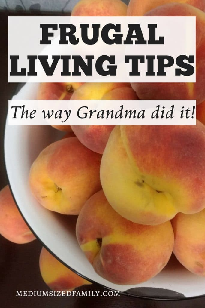 These frugal living tips are perfect for saving money and simplifying life. Learn how to DIY your way into a debt free life using the same tricks Grandma used in her home!