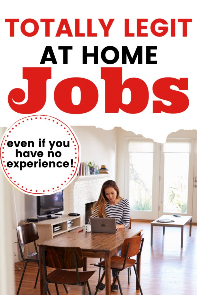 Looking for work at home jobs that are legitimate?  These legit jobs are perfect for moms or anyone even if you have no experience. Looking for replacement work when your job is closed? Get extra income here.