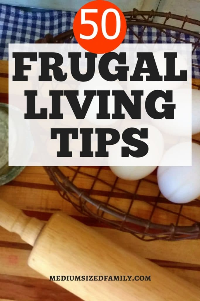 Read up on these frugal living tips and ideas for simple living. These easy hacks will have you saving money. Great ideas for beginners and experienced frugal fanatics who already love to simplify! #frugal #simple #simpleliving