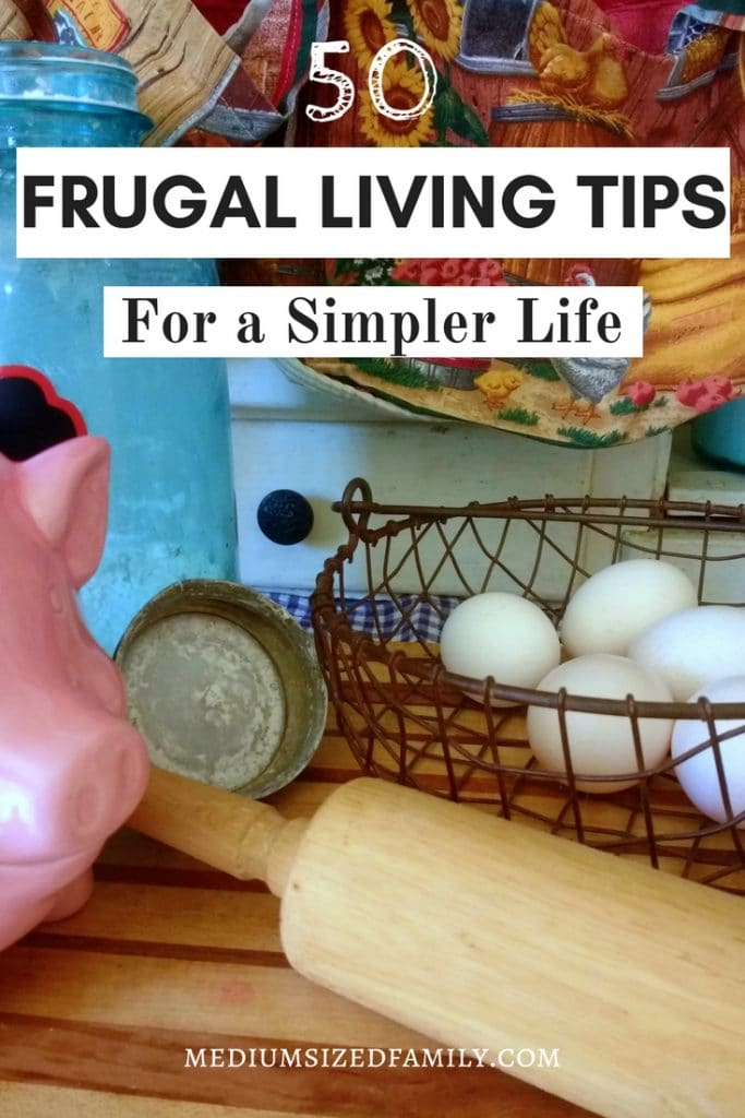 You need to read these frugal living tips to learn how to be more frugal and find out why these lifestyle ideas will simplify everything. A few minimalist homemaking ideas can change everything for your family! #frugal