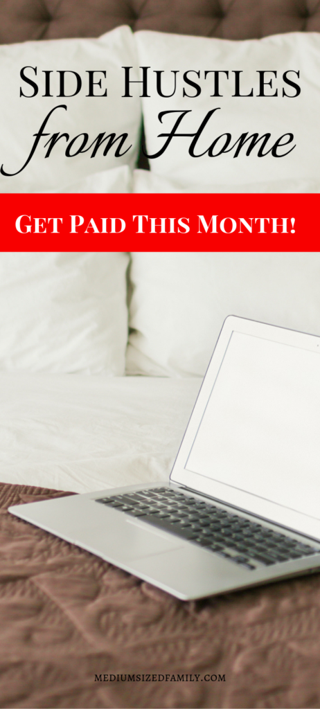 These side hustles from home will help you get paid extra money this month