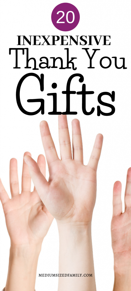 20 Inexpensive Thank You Gift Ideas