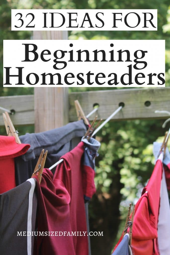 Homesteading for beginners can feel overwhelming! But these ideas will help you learn to DIY even if you live in an urban or small space setting!