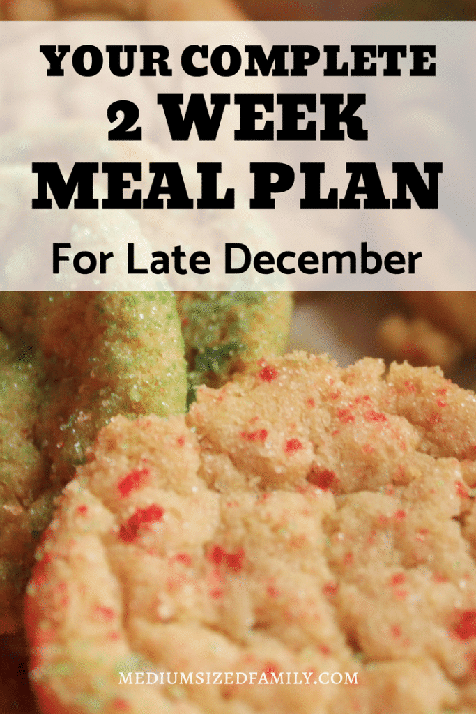 Get meal plan ideas for your menu planning in late December. Hearty warm foods that are in season for winter! Recipes and ideas for all meals here! #mealplan
