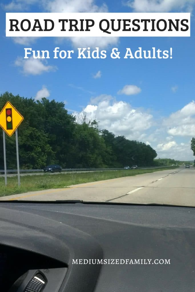 Road trip tips for having fun with friends! These entertaining questions will keep boredom at bay! Tame enough for kids but interesting and fun for everyone.