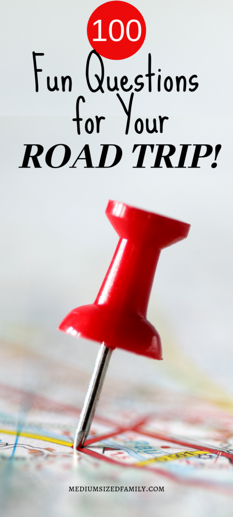 Road trip!! These fun questions will keep your family trip fun and interesting. A great game for kids and adults!