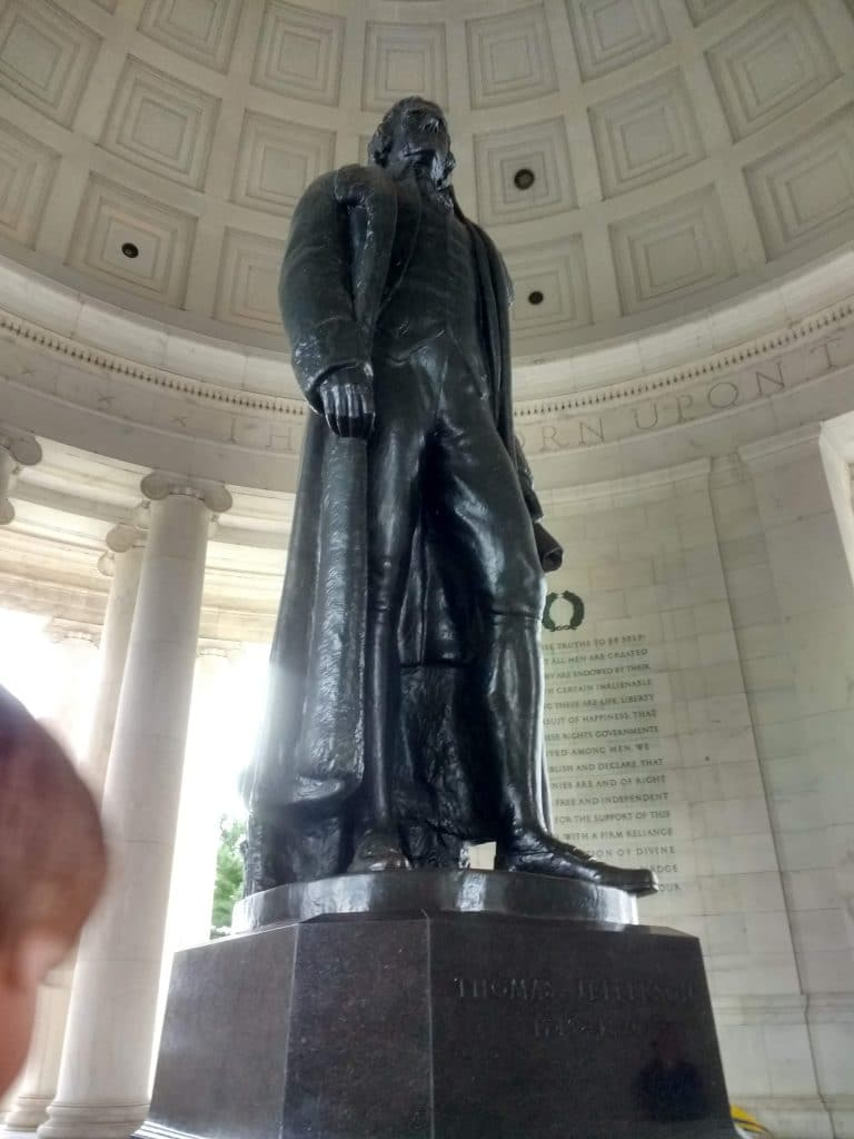 Although the Jefferson monument is off the beaten path, you won't want to miss this one!