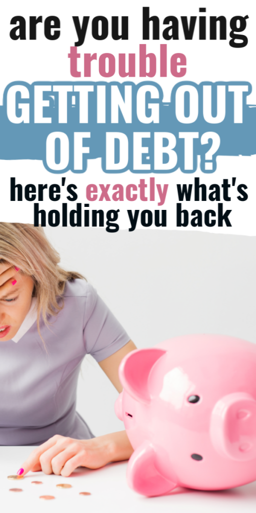 Getting out of debt when you're broke isn't easy. But with these ideas, you'll figure out what you've been doing wrong and how to fix it. How to save money by getting out of debt.