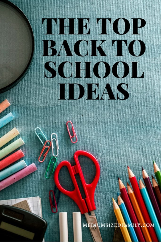 Back to school organization for Moms. Set these things in place to get your school year going right.