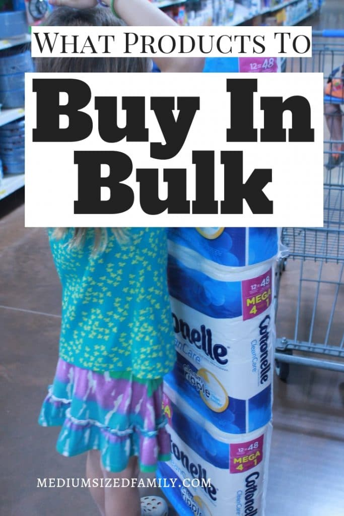 Get the best tips on what products to buy in bulk (and how to make the most of your money!).
