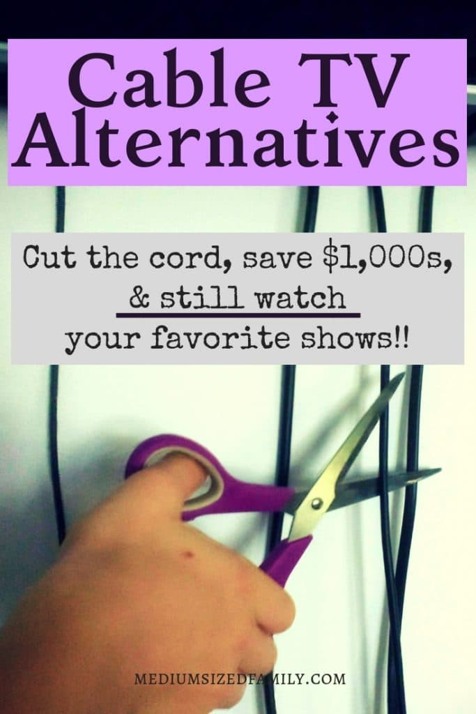 These cable TV alternatives are the perfect tips to help you watch your favorite TV shows at a fraction of the cost of cable or satellite!