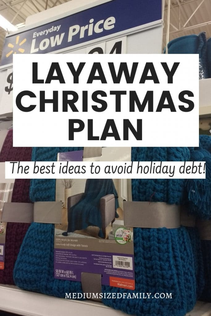 Use this layaway plan for Christmas shopping this year and skip that holiday debt hangover!