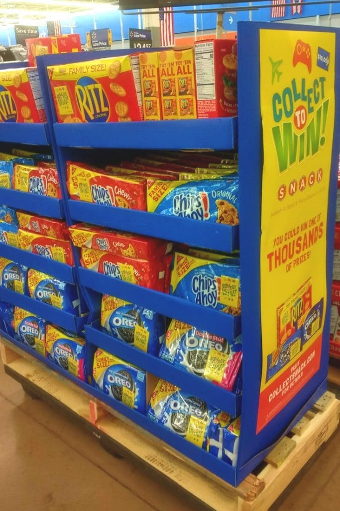 Walmart Collect to Win snacks