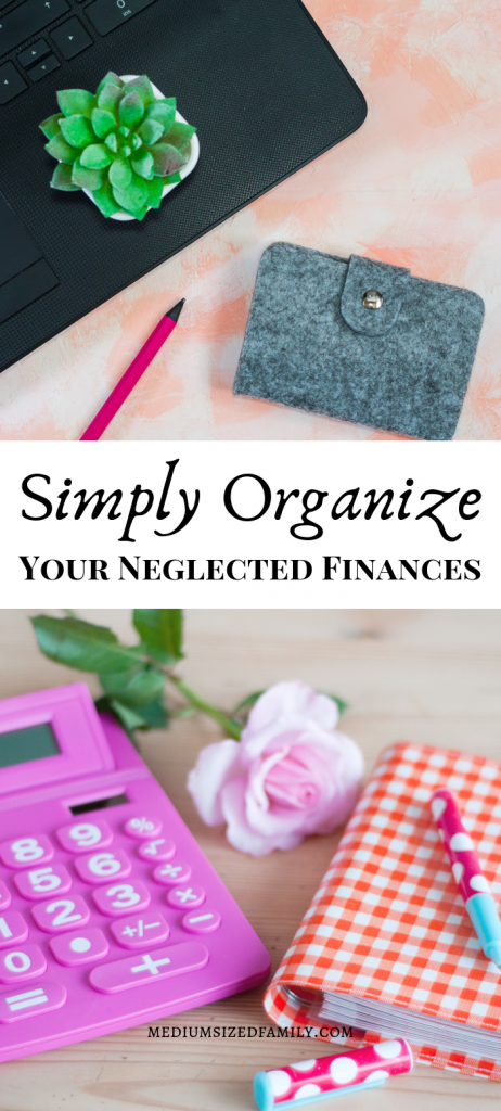 Learn how to organize finances with 3 simple ideas.