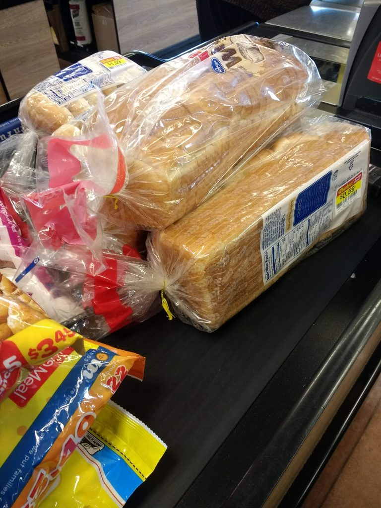 clearance groceries