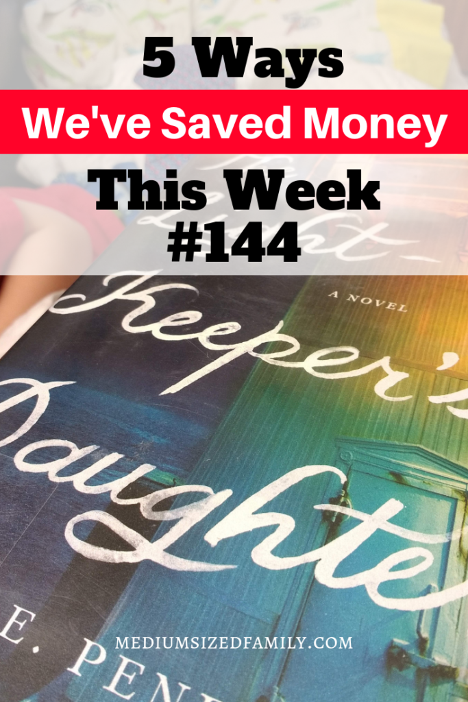 Another one in the 5 Ways We've Saved Money This Week series...learn how to become a saver!