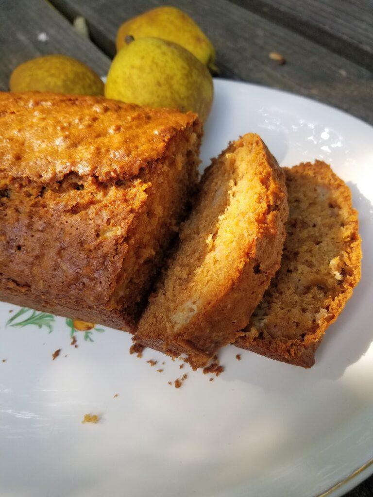 Easy pear bread recipe