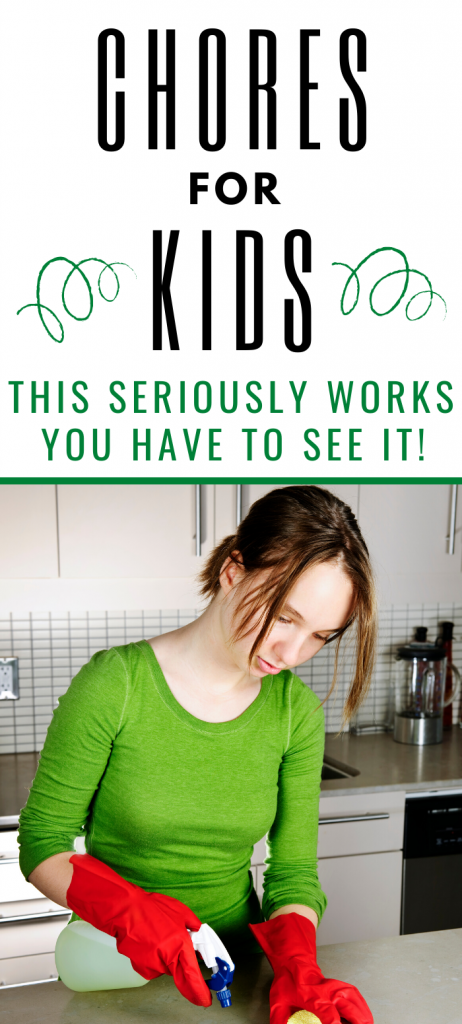 These chores for kids are full of great ideas, not just a list of chores but also tips and ideas to get the kids to pitch in around the house. Kids can clean too. Chores for teens, teenagers.