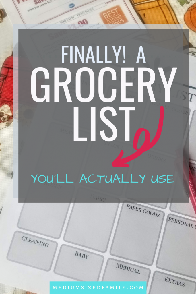 Want a grocery list on a budget that can help you with meal planning? This free fillable grocery shopping template means your shopping list is halfway done every time.