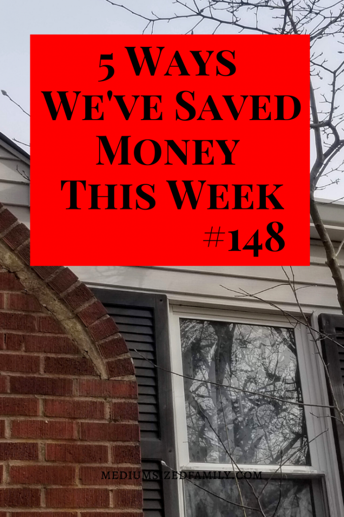 Every week this family lists the ways they saved money in their daily life