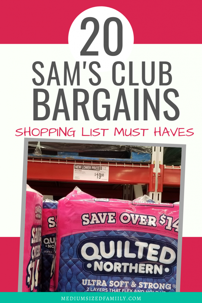 Sam's Club shopping list, find the best secrets for saving the most money on your grocery budget by using membership club, these favorites and healthy must haves will save you the most money