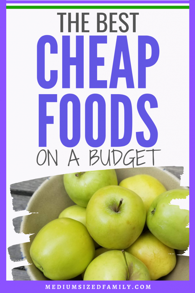 What are the best cheap foods you can buy? These cheap food ideas will give you a list of easy ways to eat as healthy as you can on a tight budget.