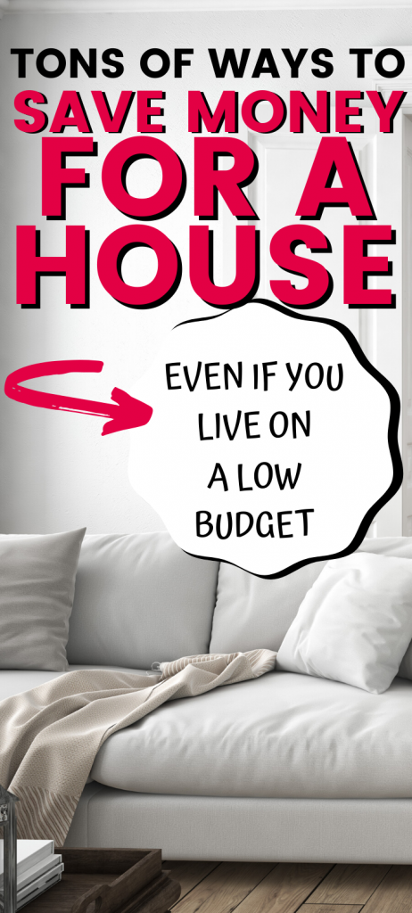 Need ideas to save money for a house? Saving up a down payment is easier with these tricks, tips, and ideas. You can save enough even on a budget, in a year.
