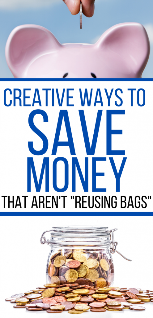 Creative ways to save money when you're on a tight budget. Unique money saving tips. Creative money saving ideas. Different ways to save money. Money saving tips and ideas. #moneysavingtips