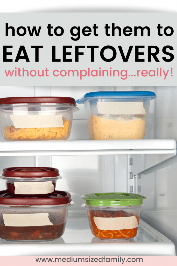 How to teach your family to eat leftovers. Recipes for eating the leftovers. The best way to eat leftovers. Less food waste at home.