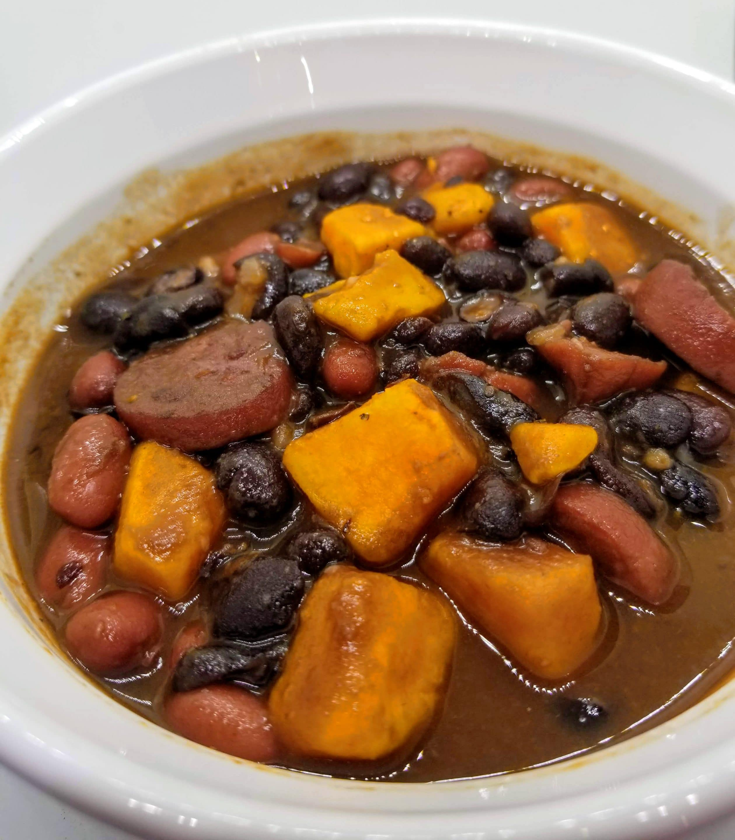 Quick and Easy Sausage Sweet Potato Soup Recipe